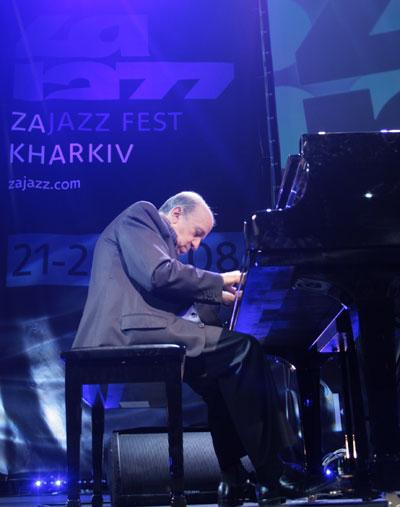 Martial Solal, легендарный французский пианист, признанный гений импровизации/фото:Катерина Кушнаренко