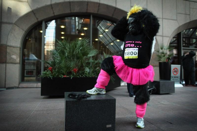 «Великий забіг горил» у Лондоні. Фото: Dan Kitwood/Getty Images