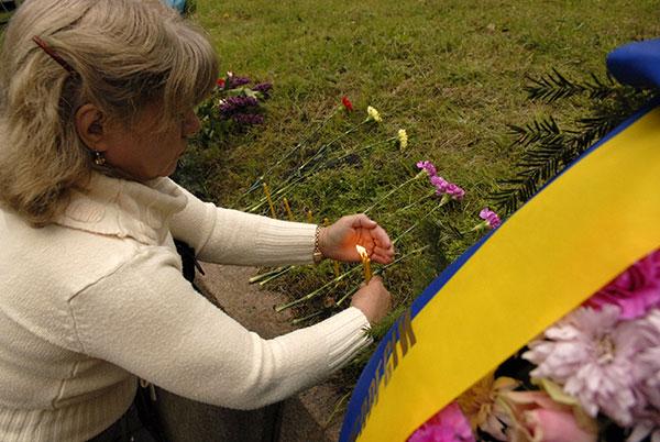 В Быковнянском лесу почтили память жертв коммунистических репрессий. Фото: Владимир Бородин/The Epoch Times