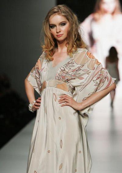 Коллекция одежды от дизайнера designer Verduci-Smith, фото: Gaye Gerard/Getty Images