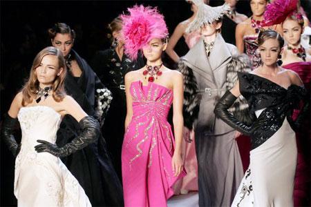 Джон Гальяно (John Galliano) для Christian Dior. Коллекция ready-to-wear осень-зима 2007/2008. Фото: FRANCOIS GUILLOT/AFP/Getty Images