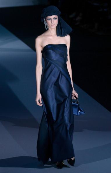 Презентація колекції Giorgio Armani на Тижні моди в Мілані. Фото Vittorio Zunino Celotto/Getty Images