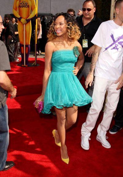 Звёздные наряды на 18-й церемонии вручения кинопремий MTV.Фото: Jason Merritt/Getty Images