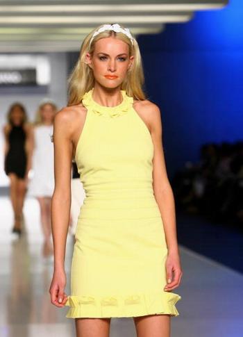 В Австралийском городе Сиднее прошел показ мод Myer весна-лето. Фото: Getty Images