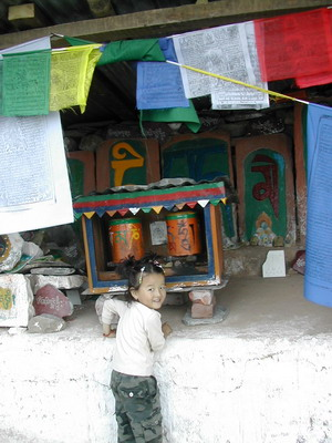 Буддистские молитвенные барабаны. Фото: Семена Павлюка
