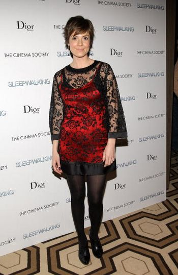 Актриса Зои МакЛеллан / Zoe McLellan посетила премьеру фильма Лунатизм (Sleepwalking), которая прошла в Нью-Йорке. Фото: Stephen Lovekin/Getty Images