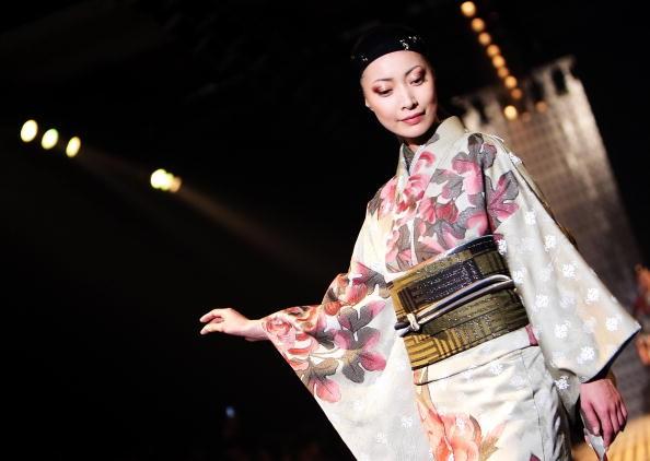 Кимоно - японская национальная одежда. Фото: Koichi Kamoshida/Getty Images