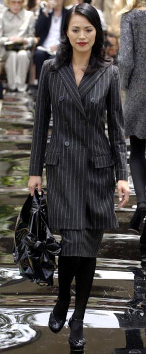 Valentino осень-зима 2007. Фото: Toby Canham/Getty Images