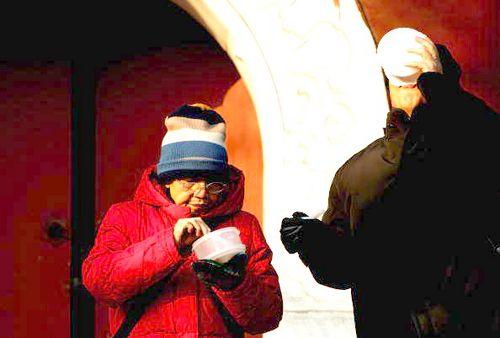 Празднование китайского праздника «Лаба» Фото: China Photos/Getty Images