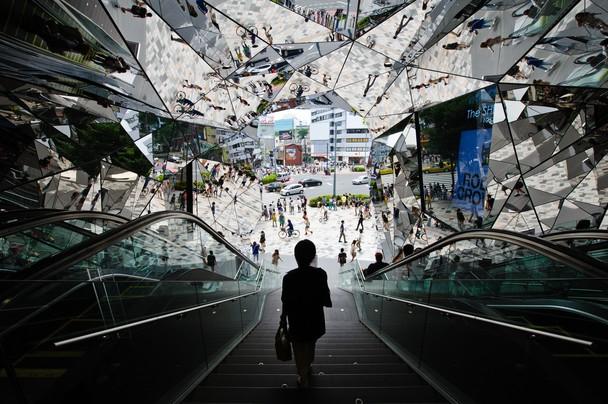 Омохара — место, где встречаются прежняя и новая культуры. Токио, Япония. Фото: Teruo Araya/travel.nationalgeographic.com