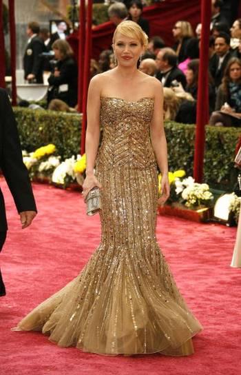Актриса Адриенна Франц (Adrienne Frantz) посетила церемонию вручения Премии Оскар в Голливуде Фото: Vince Bucci/Getty Images