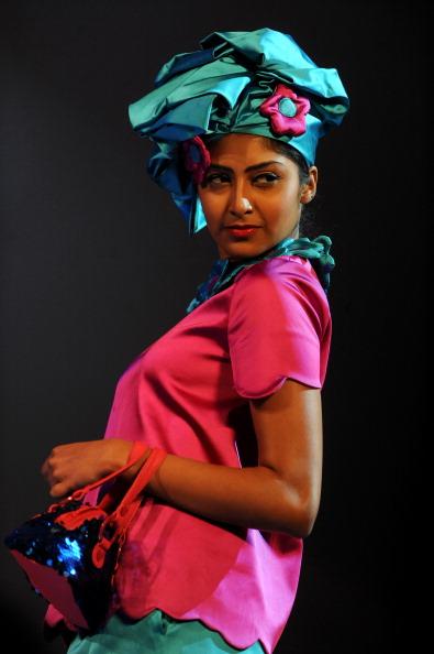 Показ мод в Коломбо. Фото Ishara S.KODIKARA/AFP/Getty Images
