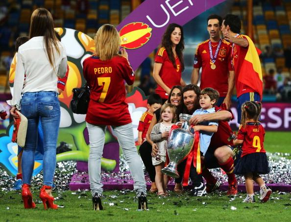 Испания — Италия Фото: Laurence Griffiths, Handout /Getty Images Sport