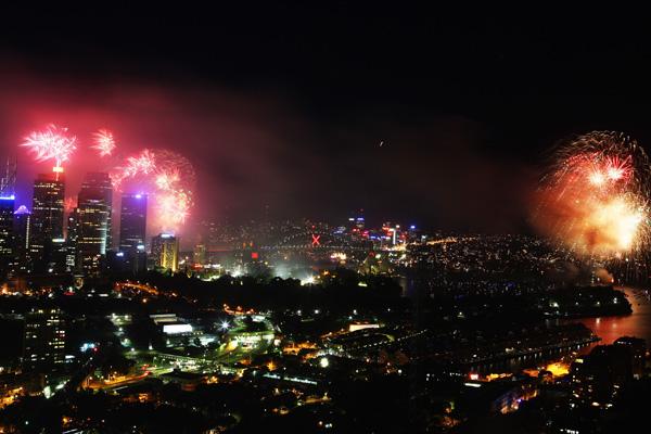 Сідней, Австралія. Цього року сіднейський феєрверк претендує на звання найбільшого в світі. Фото: Don Arnold / Getty Images