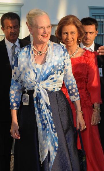 Гости на свадьбе принца Греции Николаоса и Татьяны Блатник. Фоторепортаж. Фото: Chris Jackson/Getty Images