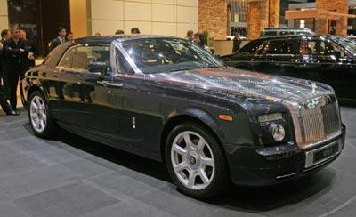 Роллс-ройс (Rolls Royce 101EX). Фото: Scott Barbour/Getty Images