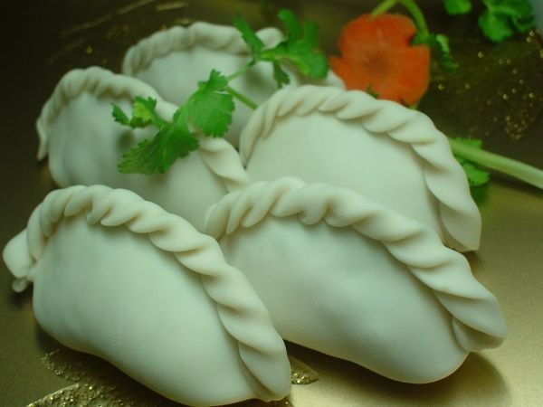 Самые красивые в мире китайские пельмени. Фото с aboluowang.com