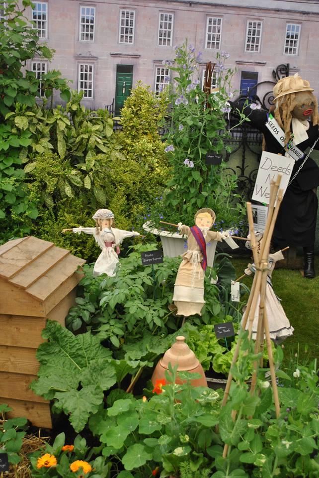 Взгляд в прошлое. Сад 1913-го года от компании «Miracle-Gro» на выставке цветов в Челси. Фото: rhschelsea/facebook.com
