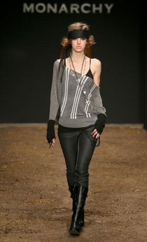 Тhe Monarchy Collection Fall 2007. Фото: Frazer Harrison/Getty Images