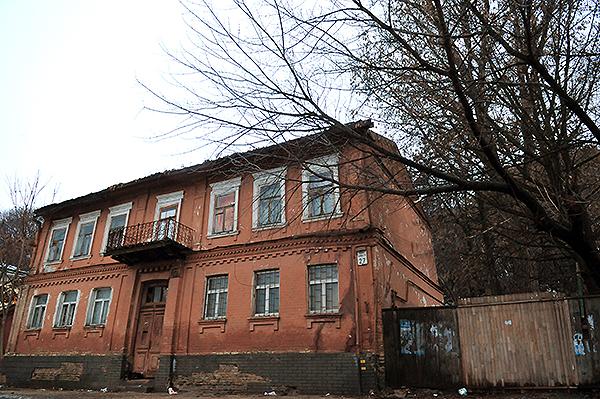 Будинок на вулиці Боричев тік. Фото: Володимир Бородін/The Epoch Times Україна