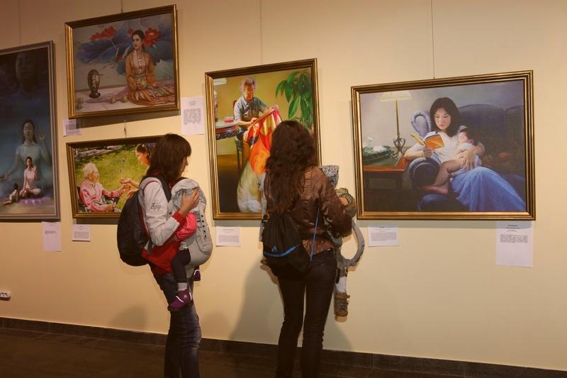 Фото надані «Великій Епосі» організаторами виставки.