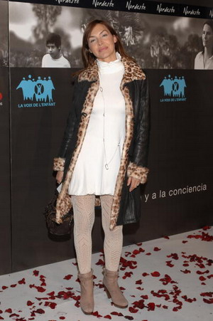 Актриса Мапи Галан (Mapi Galan) на премьере «Северовосток» (Nordeste) в Мадриде. Фото: PHILIPPE DESMAZES/AFP/Getty Images