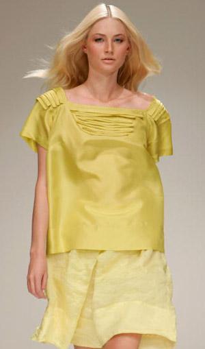 Лиза Хо (Lisa Ho), Весна/Лето 2007/08.  Фото: Lucas Dawson/Getty Images