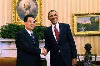Ху Цзиньтао и Барак Обама заключили контракты на $45 млрд. Фото: Alex Wong/Getty Images