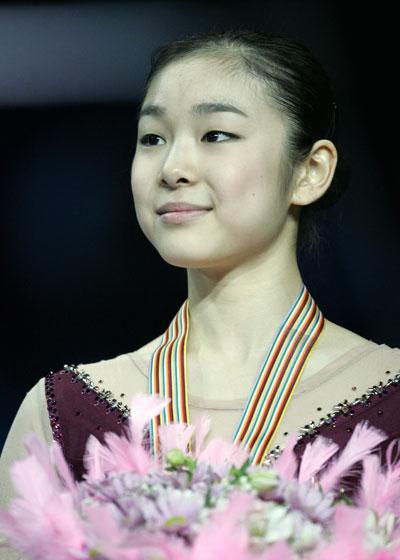 Ю-На Ким (Южная Корея). Фото: YURI KADOBNOV/AFP/Getty Image