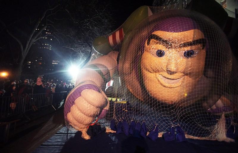 Парад Macy's у щорічний 85-й День подяки 24 листопада 2011 року в Нью-Йорку. Фото: Michael Nagle/Getty Images