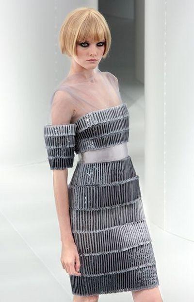 Неделя Высокой Моды в Париже: Коллекция от Chanel. Фото: AFP