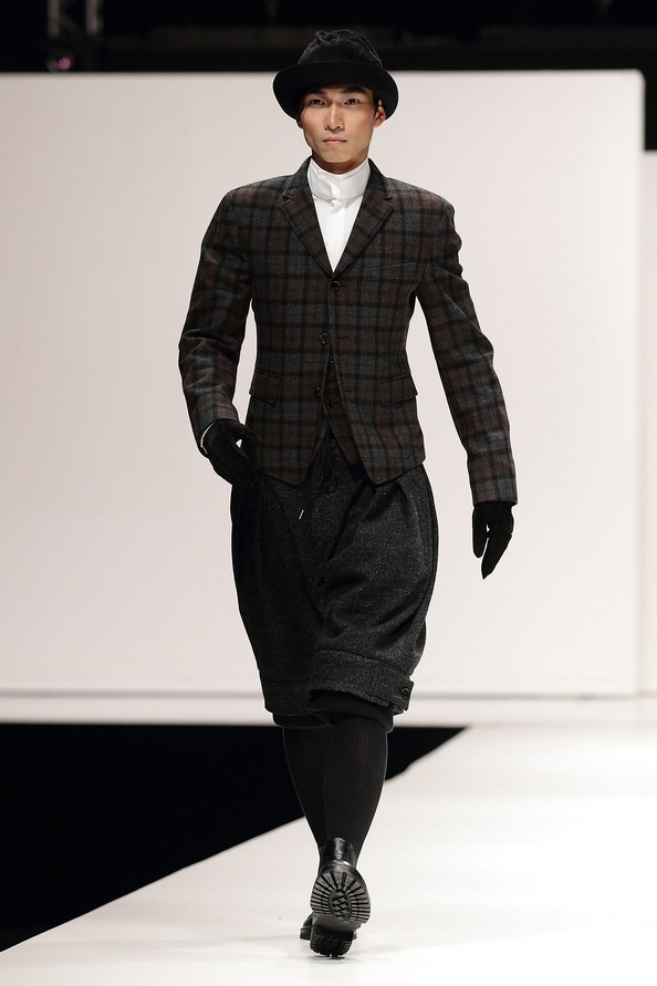 Мужская коллекция осень-зима 2012/13 от SONZIO и Spencer Hart на Singapore Men's Fashion Week. Фото: Фото: Suhaimi Abdullah/Getty Images