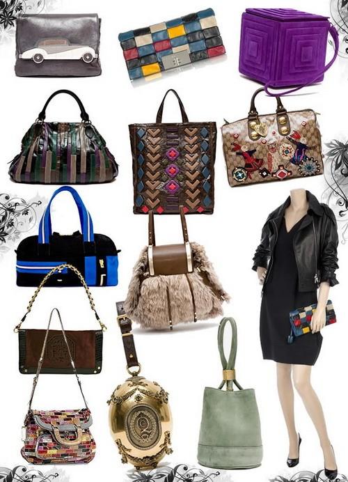 Модные сумки осень-зима 2008-2009-необычная