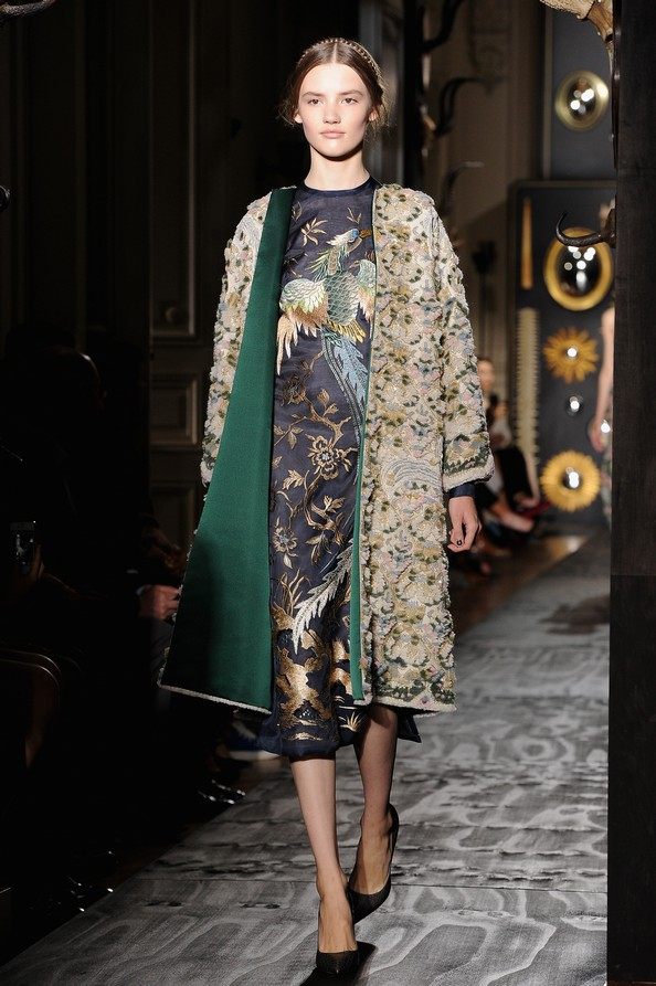 Модный дом Valentino Неделе высокой моды в Париже. Фото: Pascal Le Segretain/Getty Images