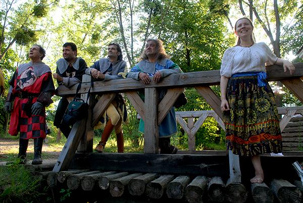 У Мамаєвій Слободі відкрився міжнародний лицарський турнір. Київ. 9-11 липня 2010 р. Фото: Володимир Бородін/The Epoch Times