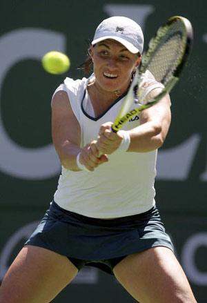 Світлана Кузнєцова (Svetlana Kuznetsova) з Росії під час турніру. Фото: Matthew Stockman/Getty Images