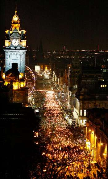 Эдинбург. Шотландия. Фото:  Jeff J Mitchell/Getty Images