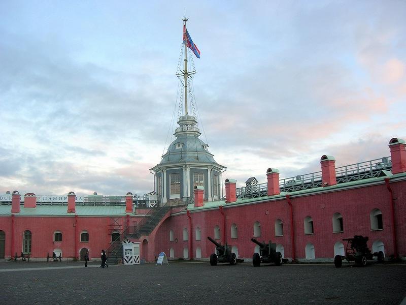 Флажная башня, Нарышкин бастион
