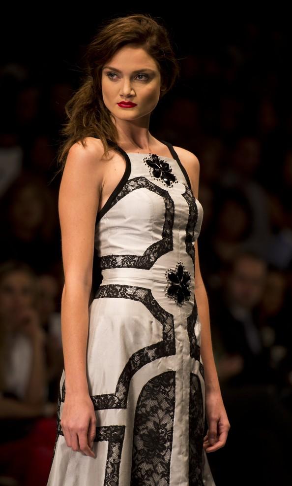 Модні тенденції осінь-зима 2013/14 на Мексиканської тижні моди. Фото: OMAR TORRES / AFP / Getty Images