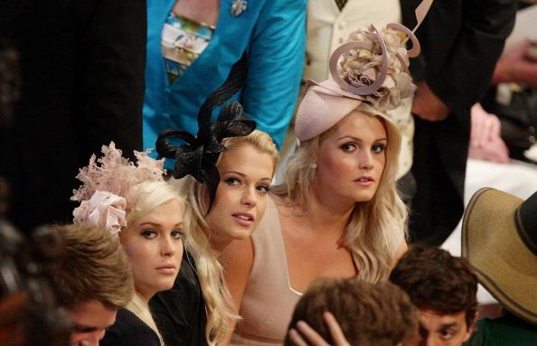 Наряды гостей на церемонии бракосочетания принца Уильяма и Кейт. Фото: WPA Pool/Getty Images