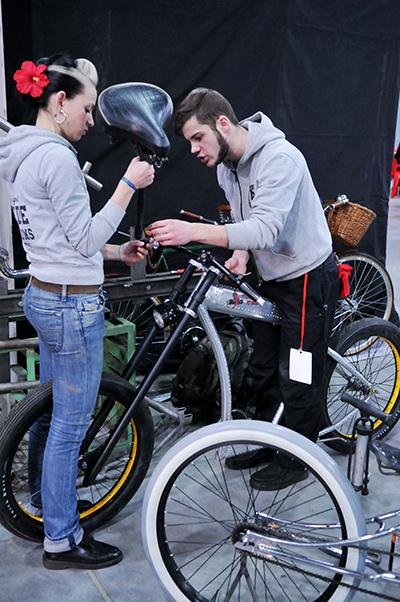 Виставка «Велобайк 2011» відкрилася в Києві 25 лютого. Фото: Володимир Бородін / The Epoch Times Україна