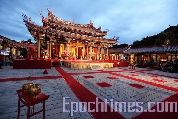 Храм Конфуция готов для церемонии празднования дня рождения Конфуция. Тайбэй, Тайвань. 28 сентября 2009 год. Фото: The Epoch Times