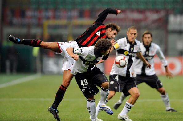 «Мілан» – «Парма» фото:Claudio Villa,Massimo Cebrelli /Getty Images Sport