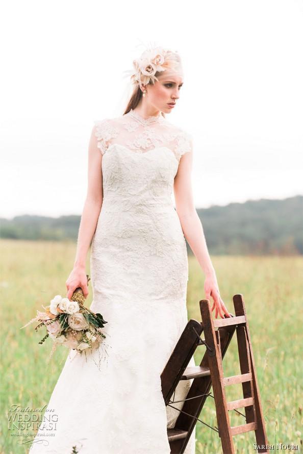Весільна колекція весна-літо 2013 від Sareh Nouri. Фото: Emme Wynn/weddinginspirasi.com