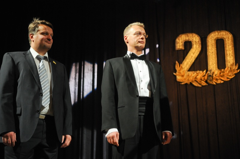 Алексей Сигал и Сергей Сигал, учредители «Военторг ДиСи». Фото: Великая Эпоха