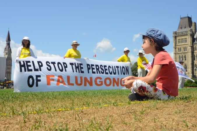 Оттава, Канада. День памяти погибших от репрессий практикующих Фалунь Дафа. Фото: Великая Эпоха
