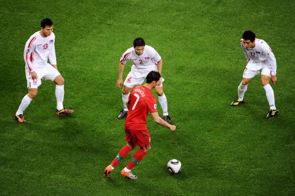 Португалія - КНДР Фото: Doug Pensinger, Laurence Griffiths /Getty Images Sport