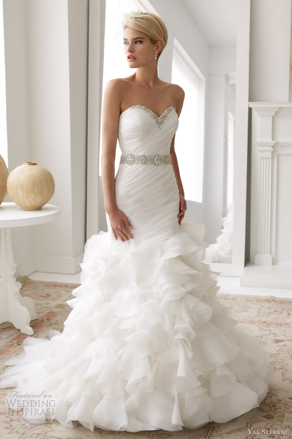 Весільні сукні від Val Stefani весна 2013