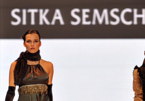 Коллекция Sitka Semch на Перуанской неделе моды. Фото: demodaenperu.com