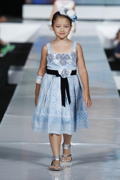 Детская коллекция от Sebastian Gunawan в Джакарте. Фото Ulet Ifansasti/Getty Images for Jakarta Fashion Week